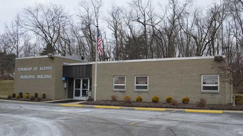 The Aleppo Township municipal building.