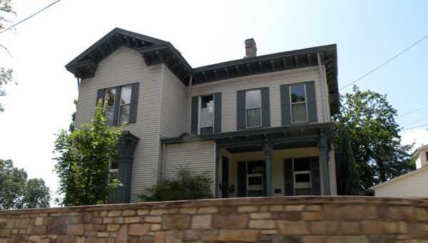 The Arthurs-Johnson House, located on Ohio River Boulevard in Ben Avon, is listed by the Pittsburgh History and Landmarks Foundation.