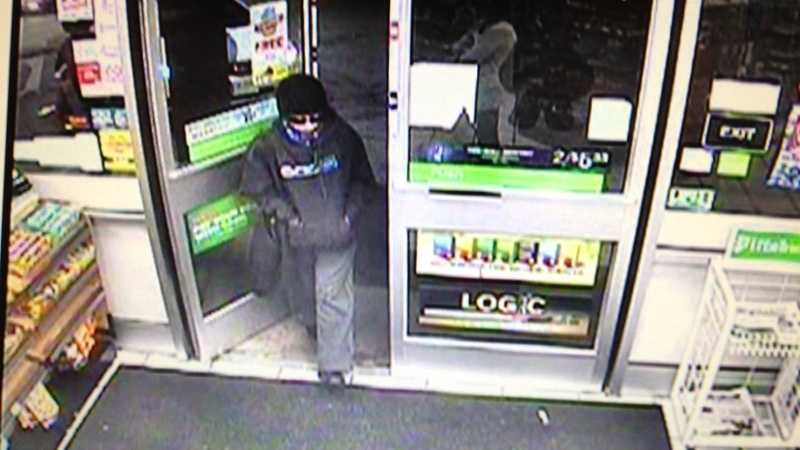 Police say this is a surveillance image of a robbery suspect at 7-Eleven in Turtle Creek.