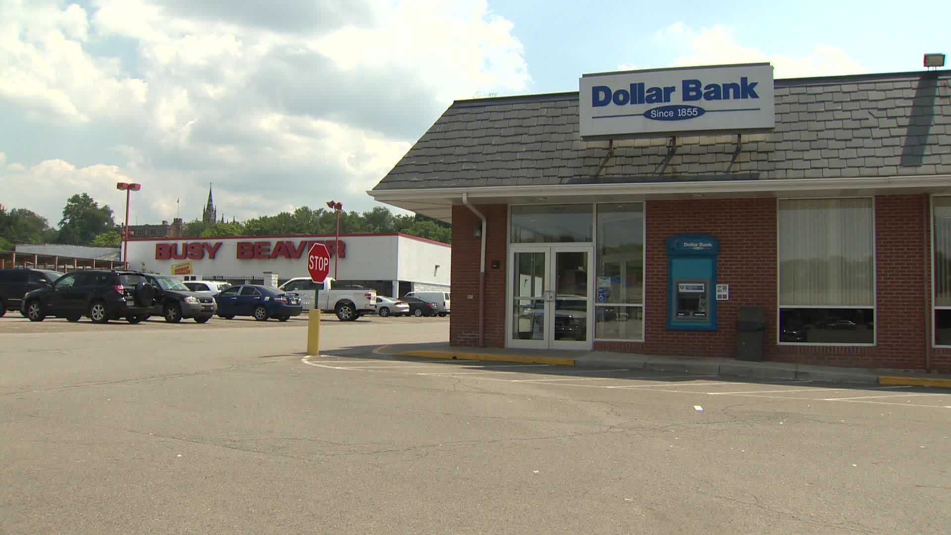 A bank was robbed in Crafton Saturday morning.
