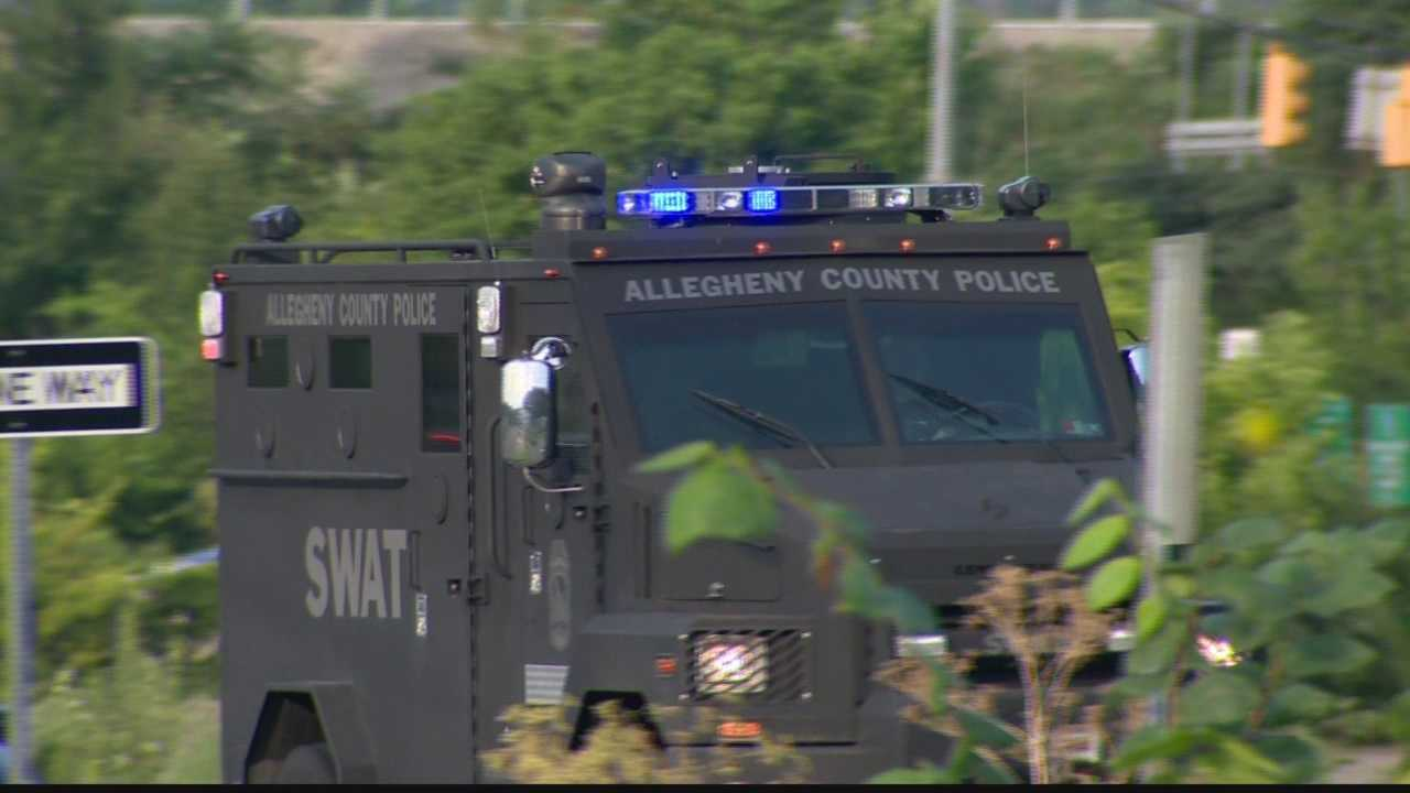 An active SWAT situation was reported in South Fayette Township, near Bridgeville Saturday evening.