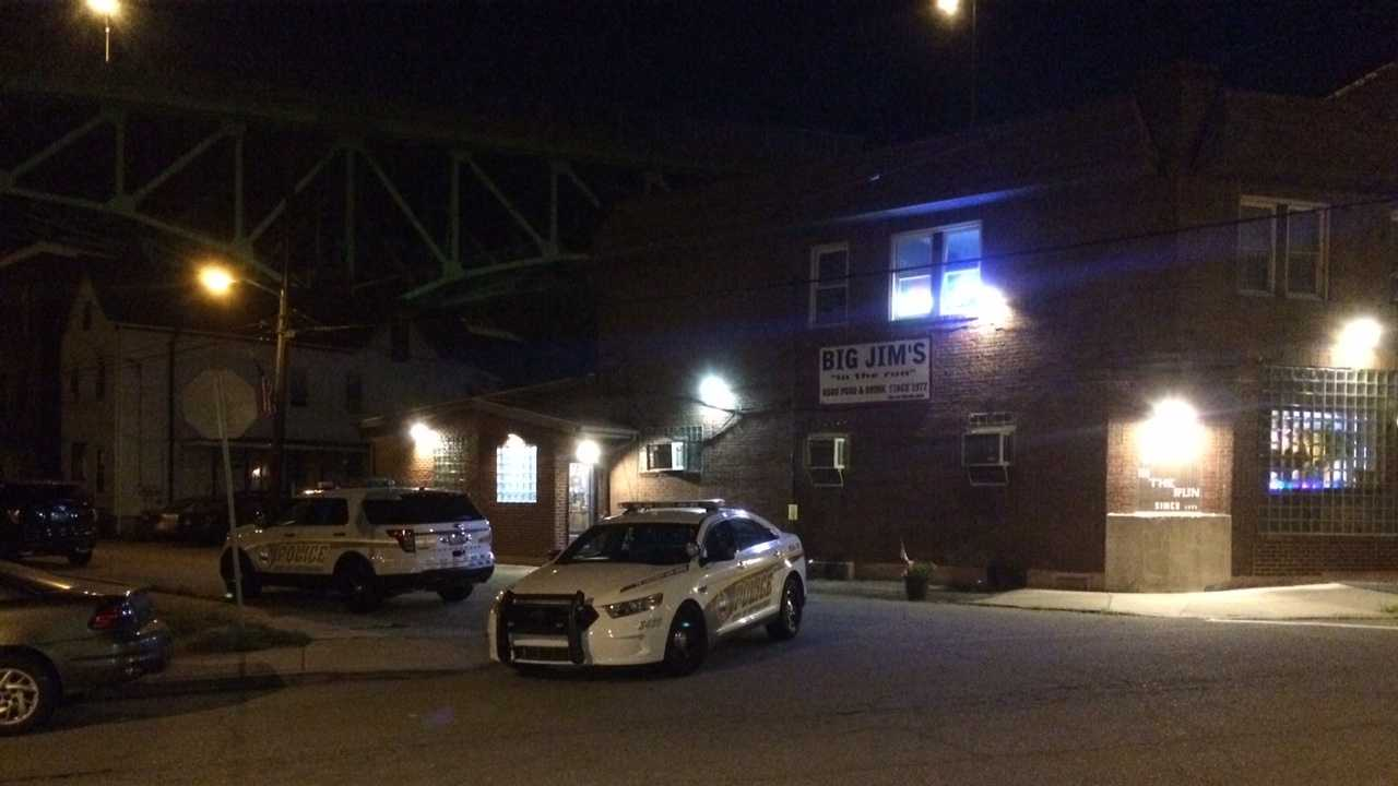 An armed robbery was reported Saturday night in Greenfield.