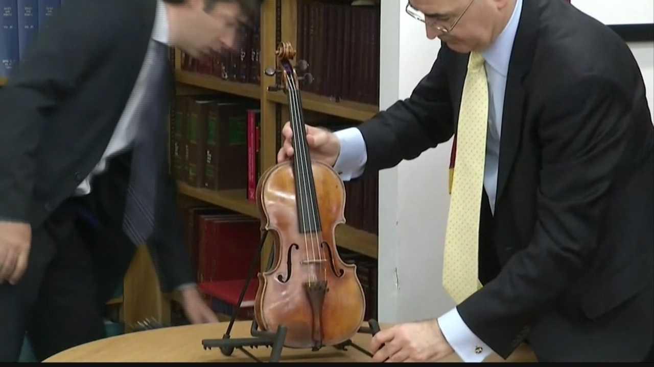 Stradivarius violin.