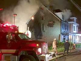 """Fire chief said McKees Rocks home was a """"fireball"""" when they arrived on scene."""