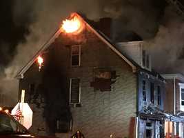 House fire in McKees Rocks caused damage to the home next door.