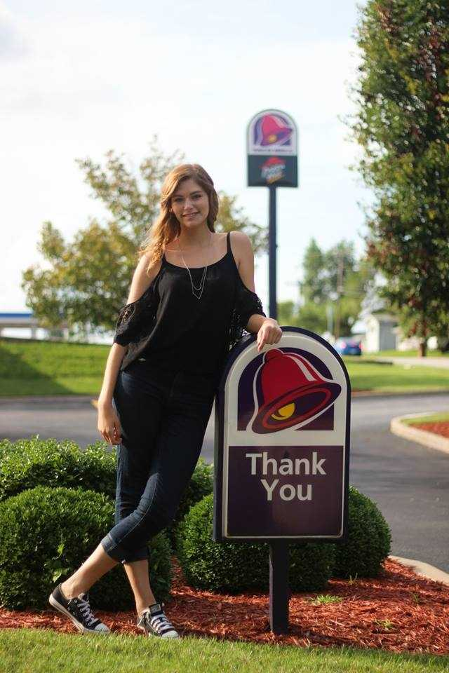 Creech said when she goes into her local Taco Bell now, people will often ask to take photos with her. Brendan Batchelor Photography