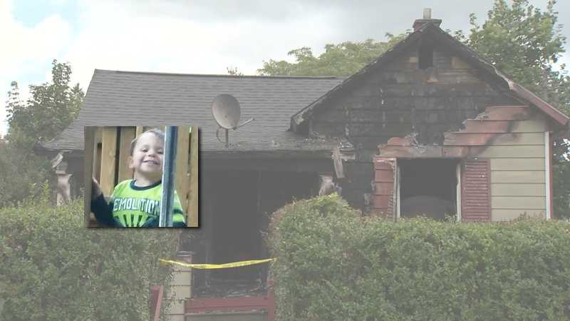 Layden Thomas died in a house fire on Sherman Avenue in Sharon, Mercer County.