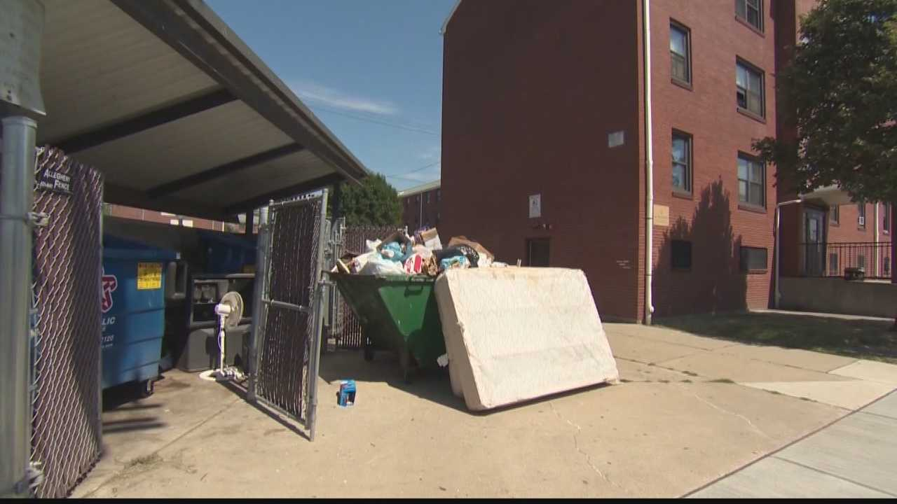 A McKees Rocks councilwoman turned to Action News Investigates when nothing was being done about an overflowing, unsanitary dumpster on her street that wasn't being removed.