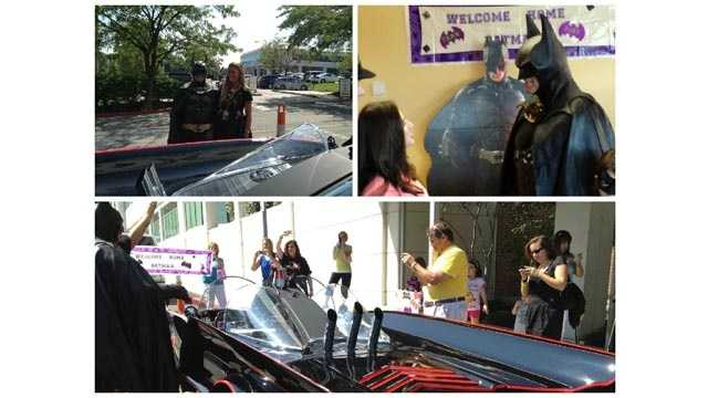 Len Robinson, 51, of Owings Mills, who was known for visiting hospitalized children while he was dressed as Batman, died in a crash on a western Maryland highway after his Batmobile had engine trouble, authorities said.