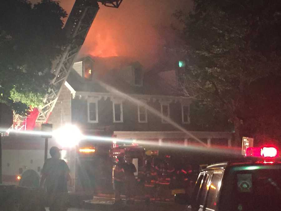 4-alarm fire ripped through the Century Inn, which was established in 1794.