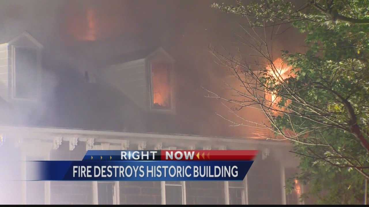 A 4-alarm fire tore through The Century Inn in Scenery Hill, Washington County, early Tuesday morning.