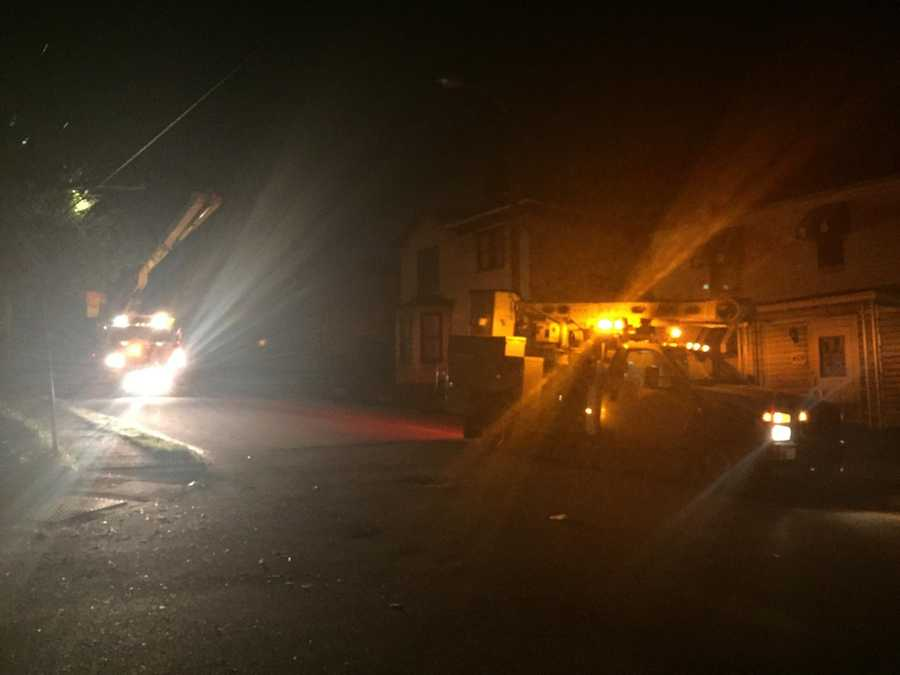 Crews respond after tree comes down in Greensburg, Westmoreland County