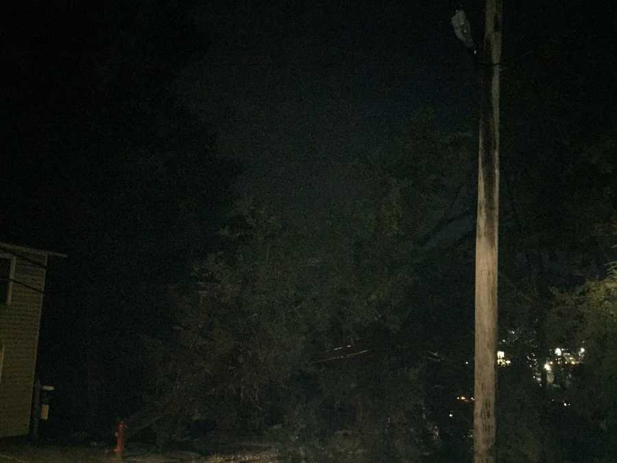 At least 700 customers without power after tree comes down, damaging wires in Greensburg on Wednesday morning