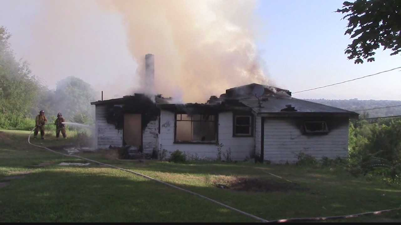 Fire crews were called to the scene of a fire in Union Township, Lawrence County early Wednesday morning.