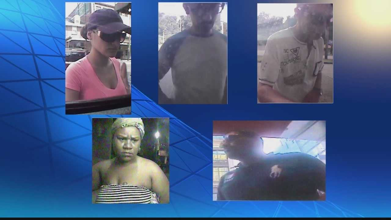 Pennsylvania State police in Washington County are investigating a case of identity theft and have released surveillance photos of the perpetrators, asking for the public's help in identifying them.