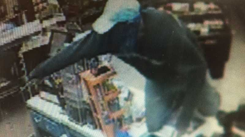 Surveillance image from BP in Herminie.