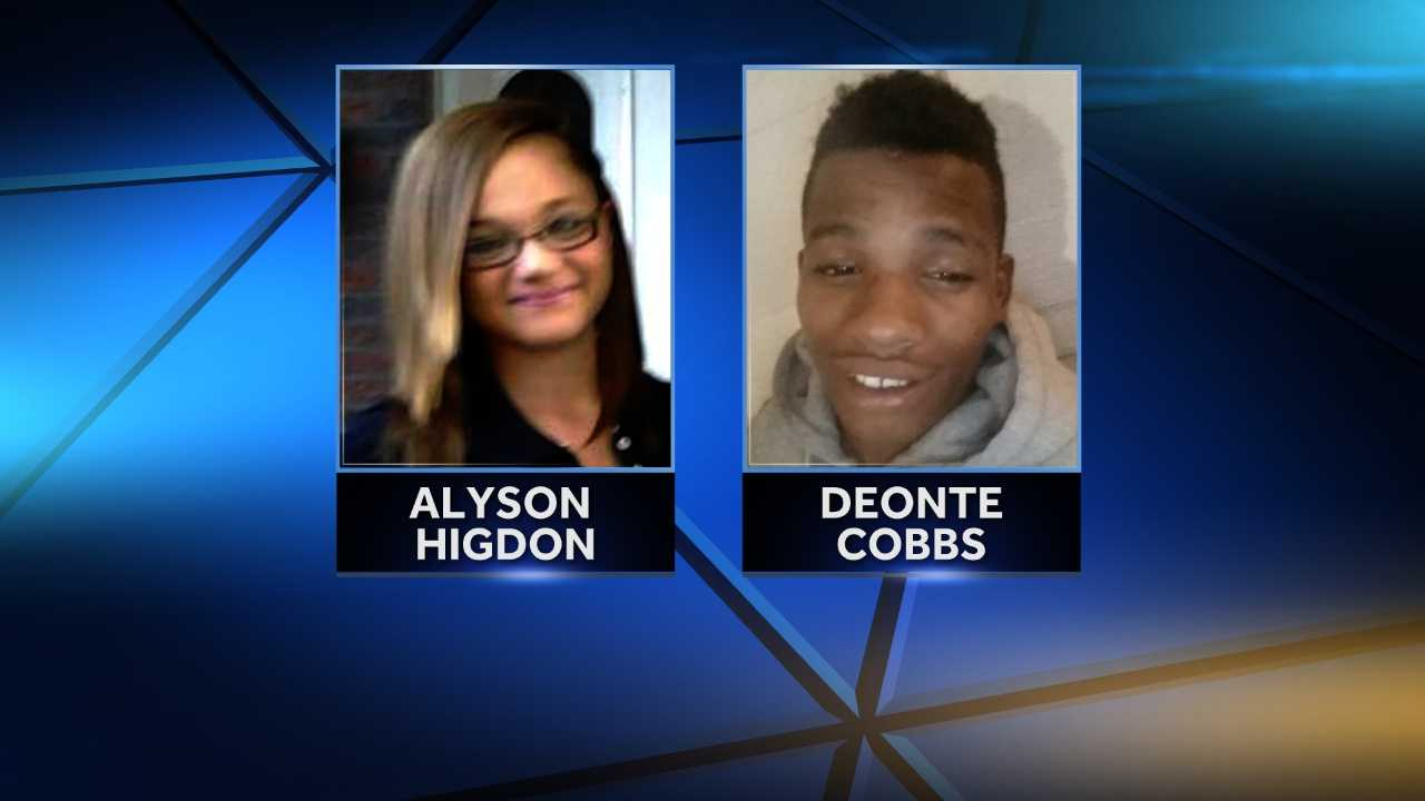 Alyson Higdon and Deonte Cobbs were hit by vehicles in separate incidents outside Founders Hall Middle School in McKeesport.