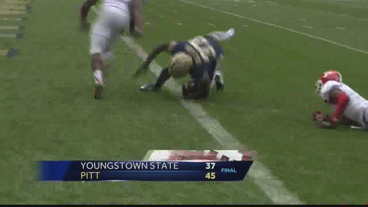 Pittsburgh's Action Sports director Andrew Stockey has a report from Heinz Field, where Pitt defeated Youngstown State 45-37 in the season opener Saturday.