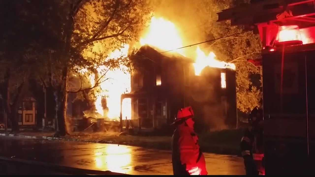 Fire officials confirmed two vacant house fires in Beaver Falls were the sixth and seventh firefighters had to battle within a week.