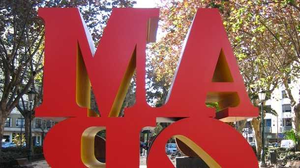 """Robert Indiana. """"Por amor al arte"""". Valencia, 8 enero 2007 - 25 febrero 2007."""