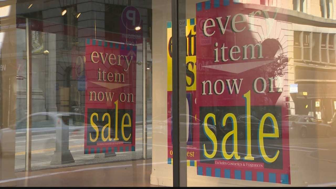 Shoppers today purchased artifacts from the historic Kaufmann's building.  The retailer who bought the store promises to keep some of the artifacts from the store, while others will be donated to the Heinz History Center.
