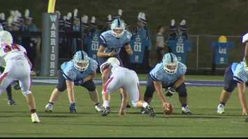 Final Score: Central Valley, 41 - Moon, 28