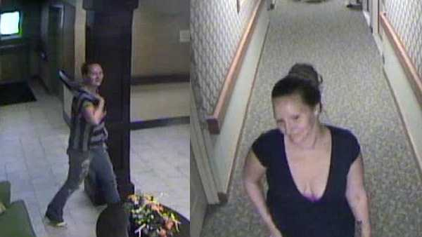 Surveillance photos of Ricki Lee Double.