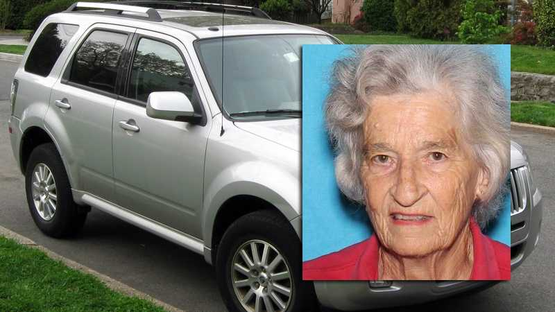 Police said Jean Rhodes was driving a silver 2012 Mercury Mariner with Pennsylvania license plate CH0-0055.