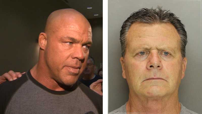 Kurt Angle (left), David Angle (right)