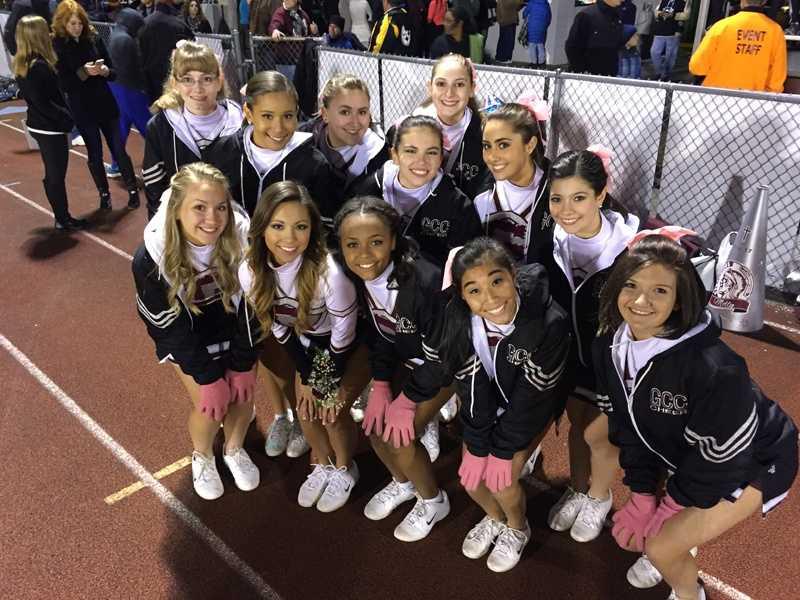 Greensburg Central Catholic cheerleaders