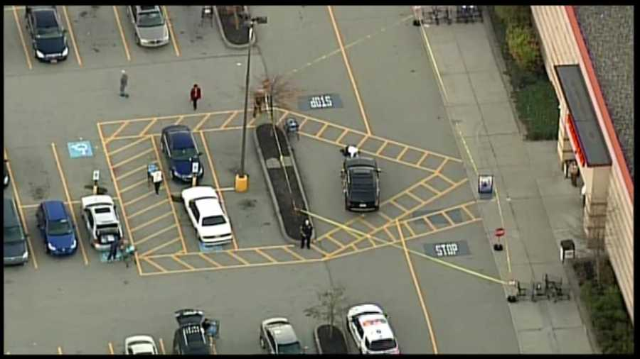 A woman was struck by an SUV in a Giant Eagle parking lot in Monroeville.