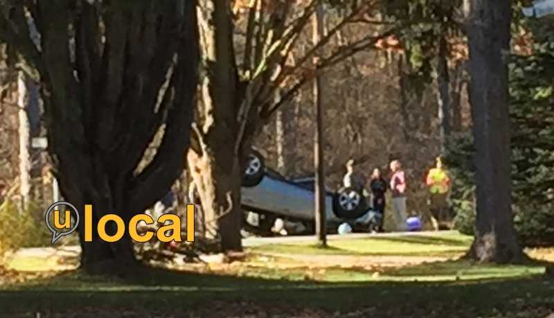 A rollover crash in Cook Township.