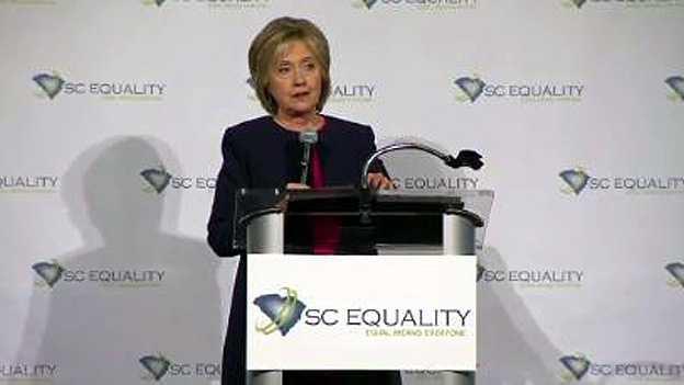 Hillary Clinton in South Carolina on Nov. 7, 2015