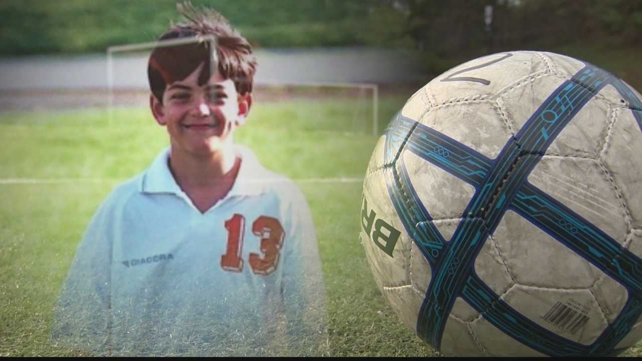 The worst day of Mary Ellias' life happened eight years ago, her son Hayden, was killed when a goal post fell on him breaking his neck.