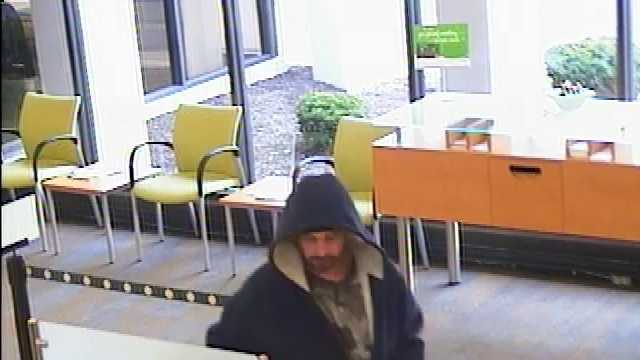 Police are searching for a man who allegedly robbed a bank in West Mifflin Saturday morning. (Image used with permission of West Mifflin Borough police)