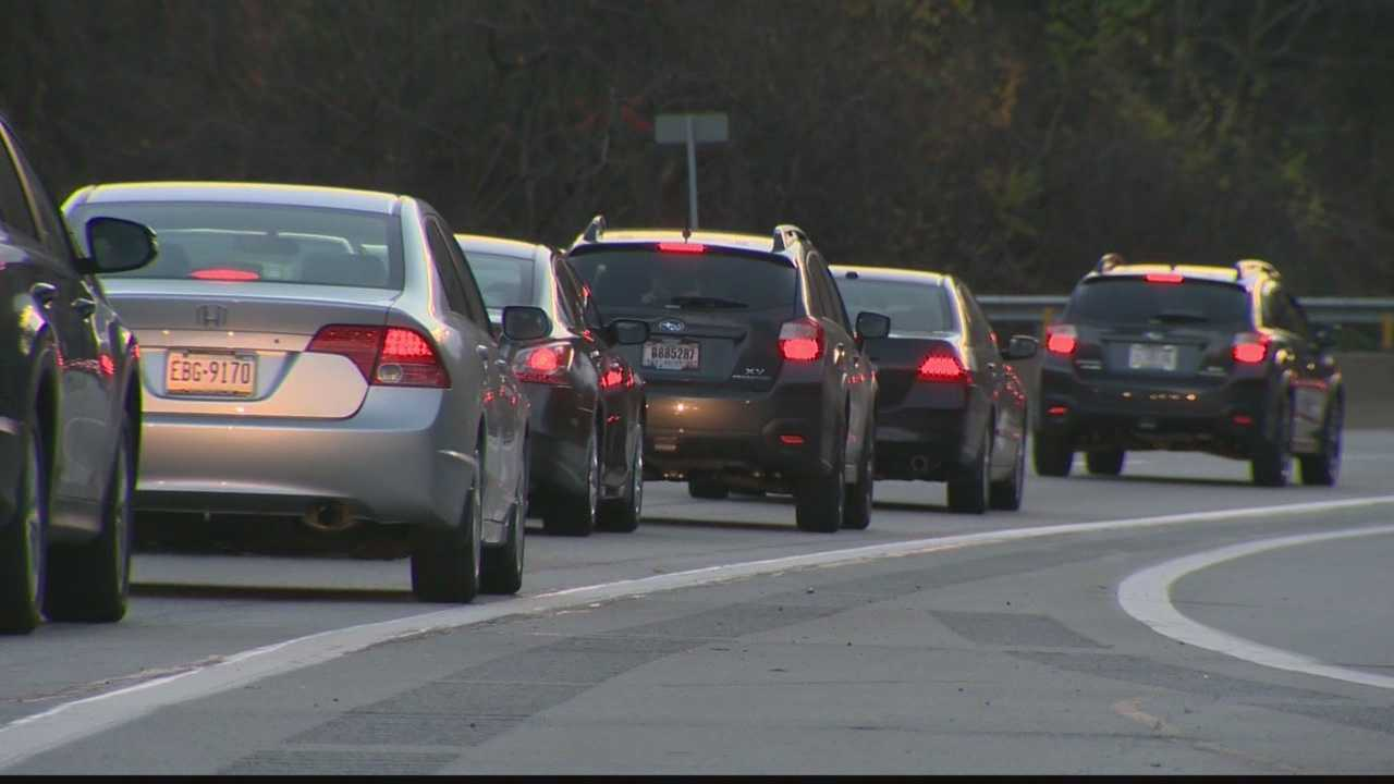 The Parkway East is closed this weekend so crews can begin work prior to the demolition of the Greenfield Bridge.  Drivers had to find alternate routes… and for some, it wasn't easy.