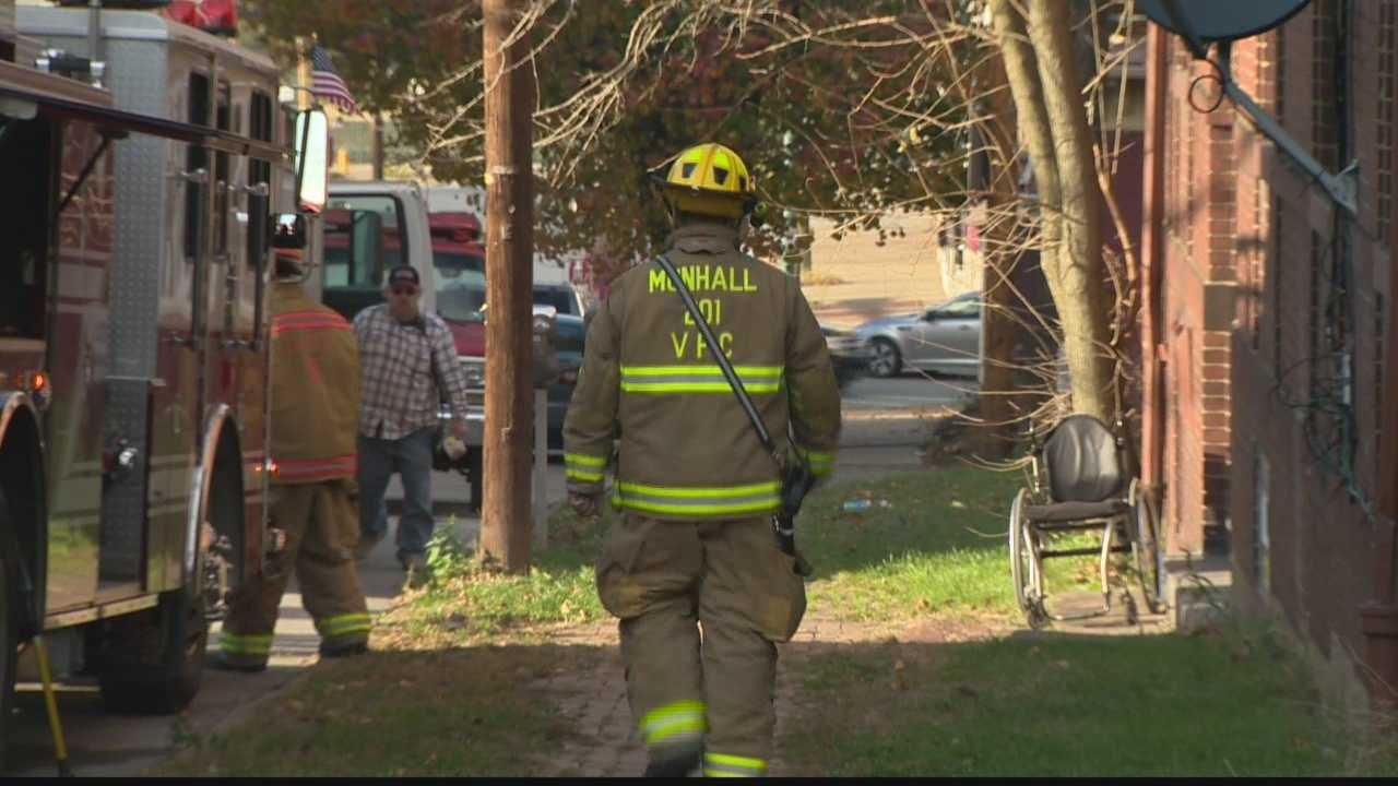 Six people were taken to the hospital because of high carbon monoxide levels in a Munhall apartment building.