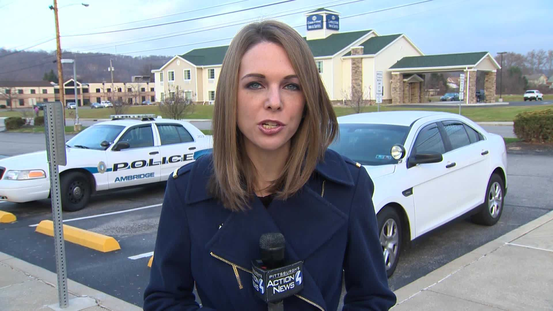 Pittsburgh's Action News 4 reporter Katelyn Sykes with brand new details after a shooting in Ambridge, Beaver County