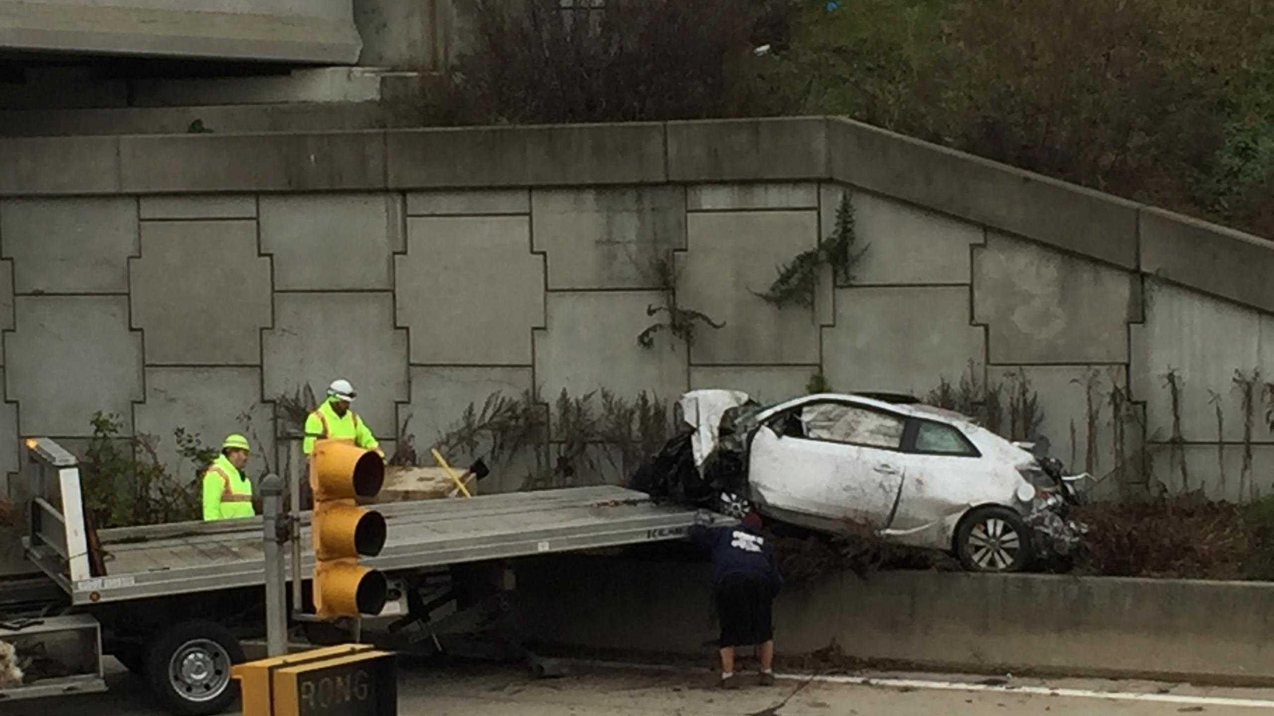 The Allegheny County medical examiner has been called to a crash in Ross Township. (Dave Carulli)