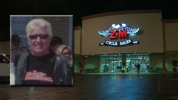 Motorcyclist James McMahan, 76, the owner of Z&M Cycle Sales, died Sunday when he collided with a car in Florida.