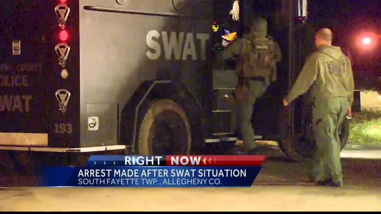 Pittsburgh's Action News 4 Reporter Jackie Cain with a look inside the criminal complaint after a man is arrested following a standoff in South Fayette Township.