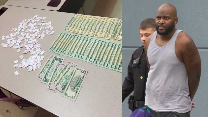 Police said Errick White (right) was charged in a heroin bust at Pittsburgh Mills.