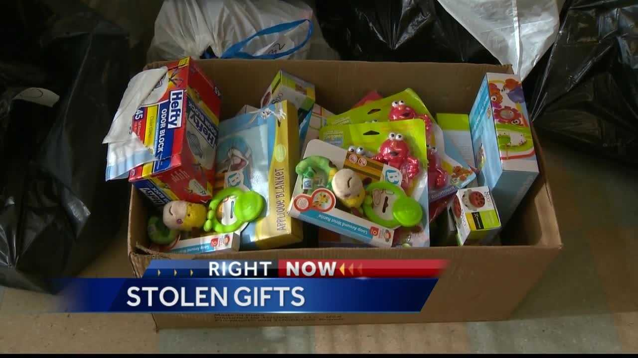 Pittsburgh's Action News 4's Shannon Perrine reports from the Lincoln Lemington neighborhood where thieves have stolen over 400 gifts from needy children BUT when Pittsburgh Police and celebrities step in, residents across the Pittsburgh region respond in kind.