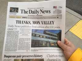 The Daily News of McKeesport.