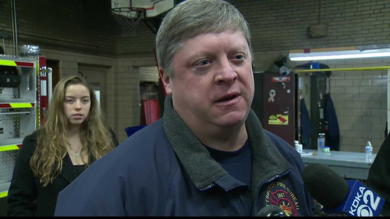 Lt. James O'Toole was one of seven firefighters injured fighting the Ross Avenue blaze.