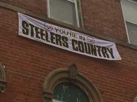 You're in Steelers Country