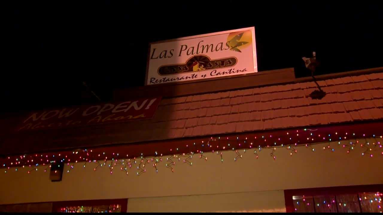 Casa Rasta, owned by same group as Las Palmas, had a rock thrown through its window early Friday morning.