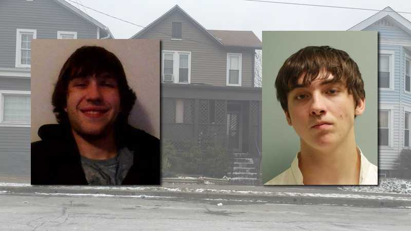 Police said Zachary McGrath (right) shot Daniel McNerny (left) outside a house on St. Clair Street in Latrobe.