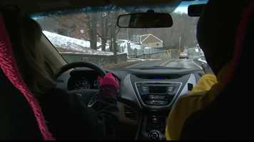 Thursday: Pittsburgh's Action News 4 reporter Sheldon Ingram got a lesson in driving in the snow and how to stay safe when roads become slick.