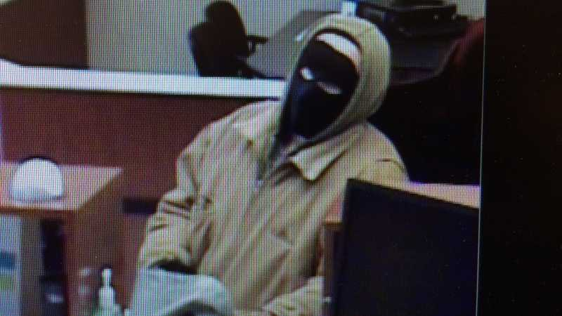A surveillance image from Manor Bank in Level Green.